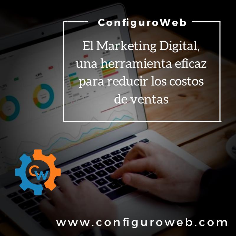 El Marketing Digital, una herramienta eficaz para reducir