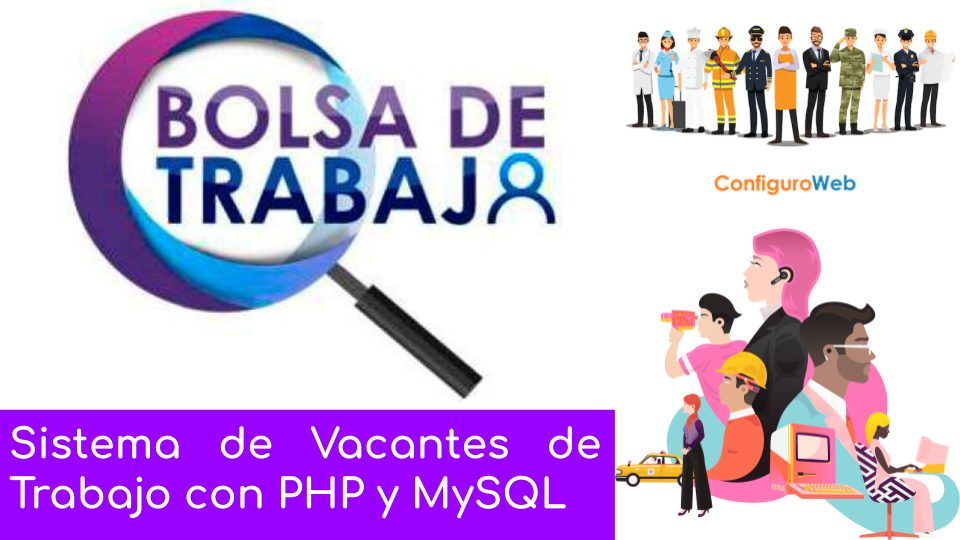 Sistema de Vacantes de Trabajo con PHP y MySQL